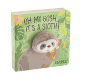 Ganz 4 X 4 Sloth Puppet Book Paperback BG3270