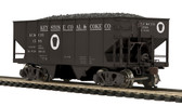 MTH Trains Keystone(#1588) USRA 55 Ton Steel Twin Hopper Car HO Scale 80-97089