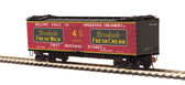 MTH Electric Trains Brroshire Fresh Milk(#1836) R40-2 Woodside Reefer Car HO Scale 80-94055