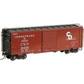 Kadee C & O (18499) 40'PS-1 Boxcar 8' Door HO 5023