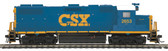 MTH Electric Trains CSX (2653) GP-38-2 Diesel Engine DCC Ready HO Scale 85-2056-0