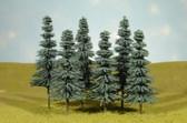 """Bachmann 5"""" - 6"""" Blue Spruce Trees HO 32012"""