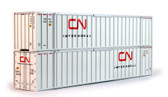 Kato HO 53'Magnetic Intermodel Container CN 30-9027