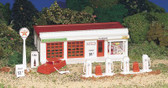 Bachmann Plasticville Gas Station HO Scale 45174