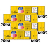 Micro-Trains Union Pacific 4 Pack RP#172 N Scale 99300172