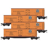 Micro-Trains Western Pacific 4 Pack RP#171 N Scale 99300171