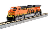 Kato ES44AC GEVO  BNSF Shoosh  and Mixed Freight N Scale Starter Set 106-0024