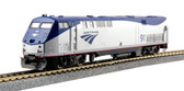 Kato Unitrack GE P42 Amtrak w/ Superline II Transition Sleeper HO Scale Set 30-2003