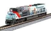 Kato N Scale EMD SD70ACe Union Pacific #1111 Powered by the People 176-8412