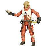 "Star Wars TFA The Black Series 6"" Action Figure X-wing Pilot Asty #14 Wave 4 HSB3834D"