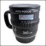 Nuop Into Focus Black Mug IFM