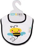 Izzy & Owie Yellow And Black Bee Baby Bib 79279