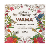 Ganz Wama Nature & Fantasy Coloring Book ER48582