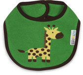 Izzy & Owie Green And Yellow Giraffe Baby Bib 79355