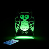 Aloka Owl Sleepylight With Remote 0620