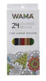 Ganz Wama 24 Count Colored Pencils ER48599