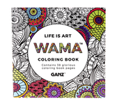 Ganz Wama Life Is Art Coloring Book ER40760