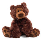 "Gund Philbin Bear Chocolate 12""  320046"