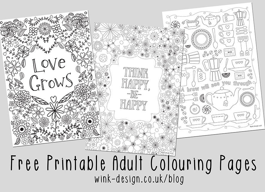 Free Printable Adult Colouring Pages Inspirational Quotes For The