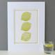 When Life Hands Mum Lemons Print - mounted