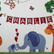 Personalised Children's Jungle Animal Print - detail