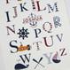 Personalised Nautical Alphabet Print For Children