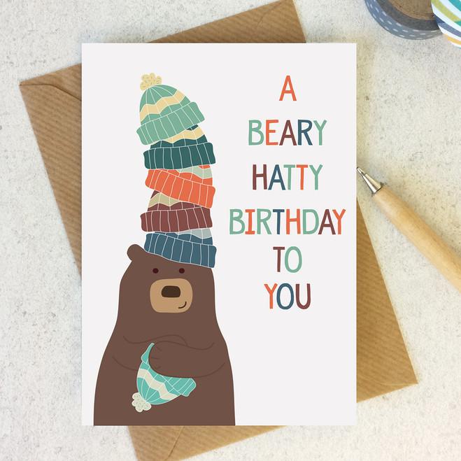 A Beary Hatty Birthday