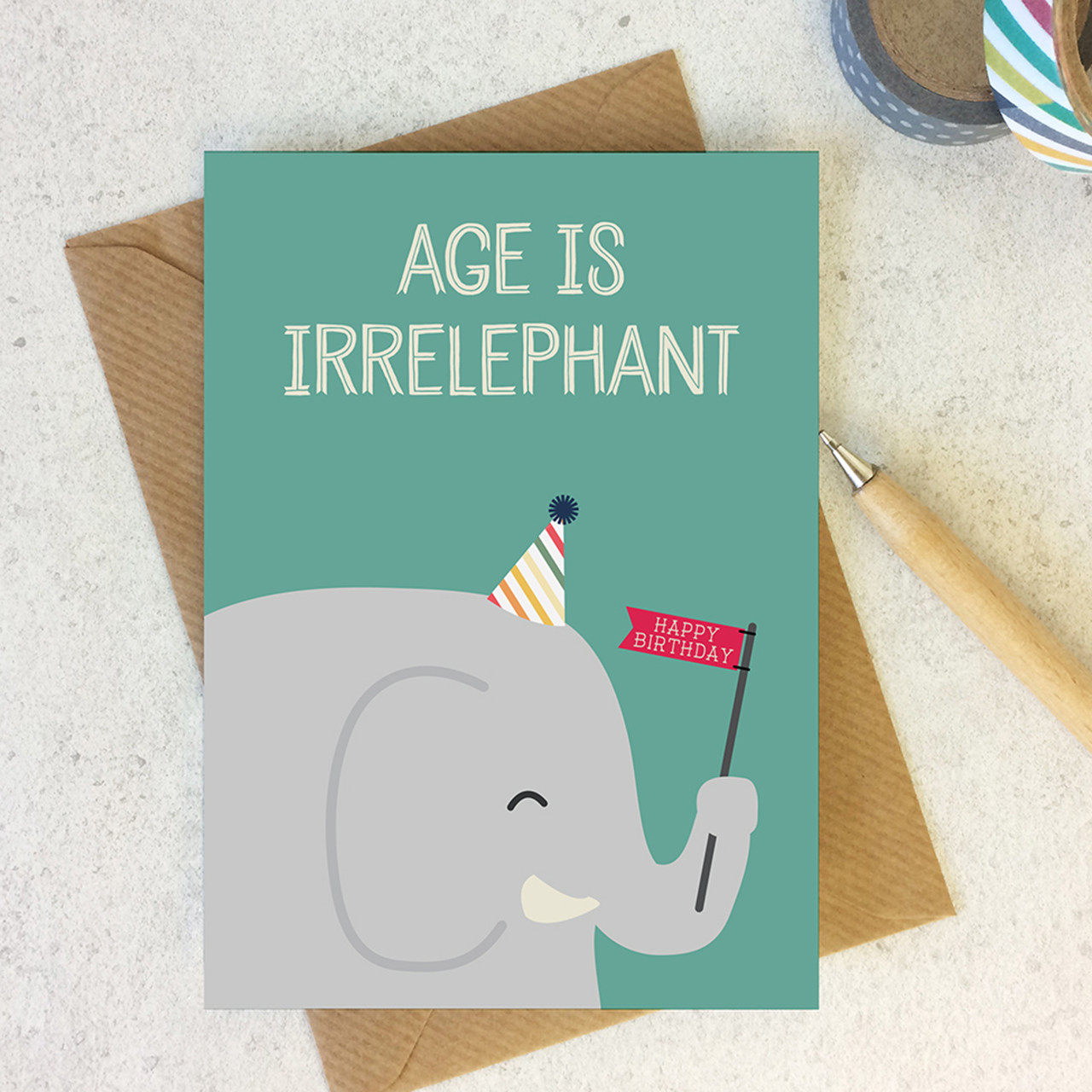 Age Is Irrelephant
