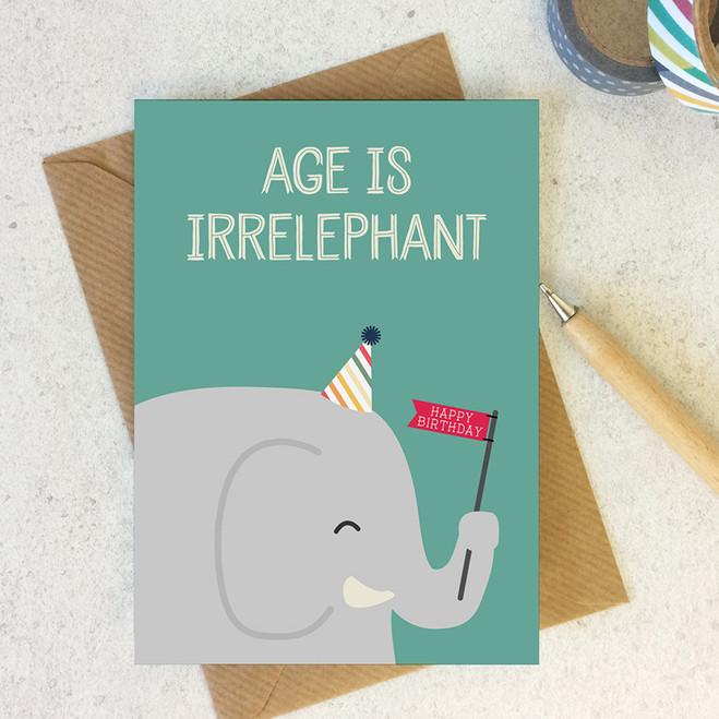 Age Is Irrelephant