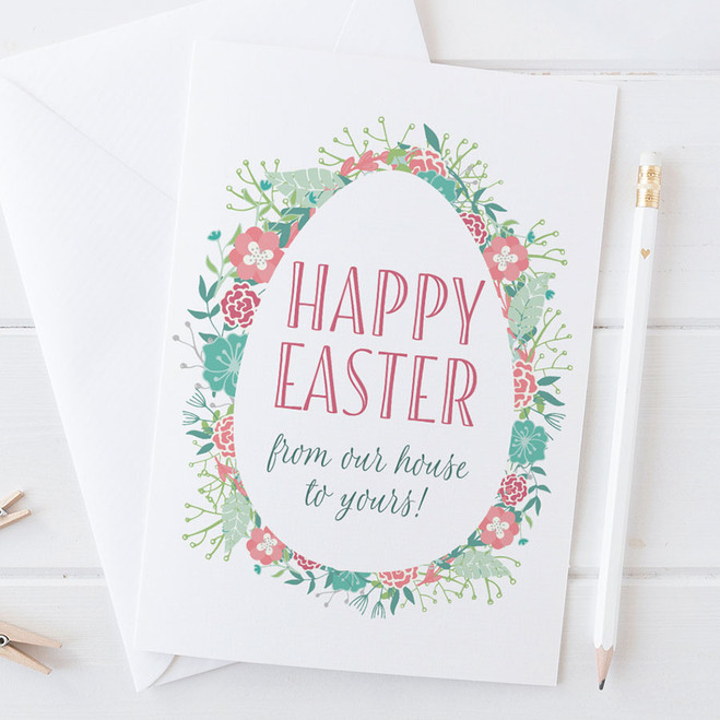 Happy Easter from our house to Yours by Wink Design