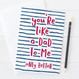 Wink Design Like A Dad To Me Card
