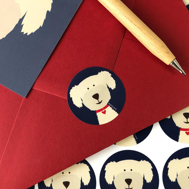 Dog Stickers by Wink Design