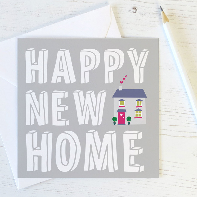 Happy New Home Card by Wink Design