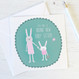 New Baby Sister Card for Big Sisters by Wink Design