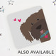 Also Available: Brown dog coaster