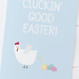 Have a Cluckin' Good Easter! Funny Easter Card by Wink Design