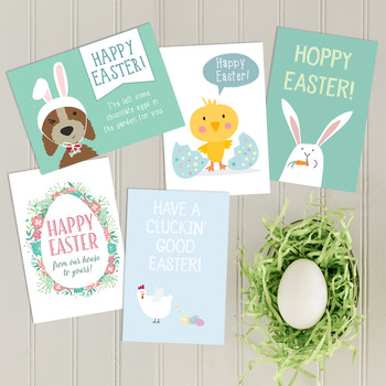 Easter Card Selection 5-pack by Wink Design