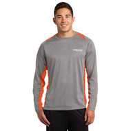 Sport-Tek Long Sleeve Heather Colorblock Contender Shirt