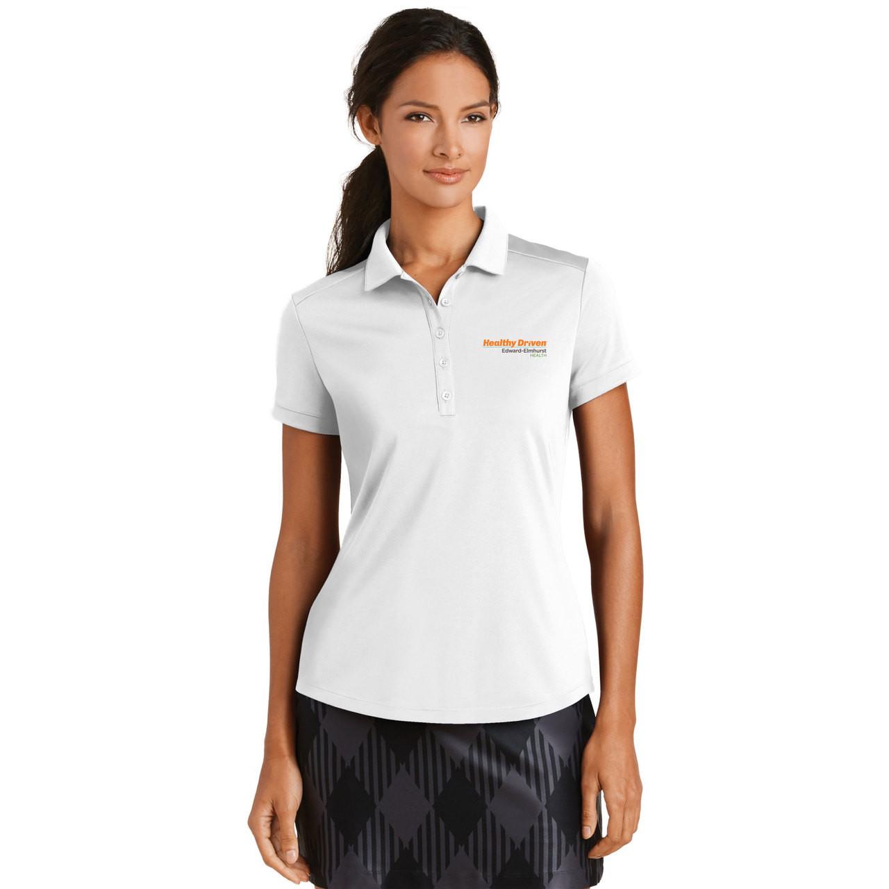 Ladies Nike Golf Dri Fit Smooth Performance Modern Fit Polo Shirt