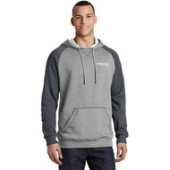 District® Young Mens Lightweight Fleece Raglan Hoodie