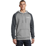 District® Young Mens Lightweight Fleece Raglan Hoodie