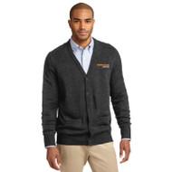 Port Authority® V-Neck Cardigan Sweater w/ Pockets