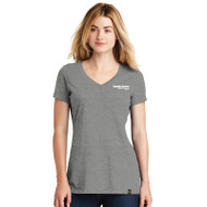 New Era® Ladies' Heritage Blend V-Neck Tee Shirt