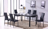 Noir 7pc Set 321200 Dining