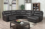 Wrangler Brown Sectional