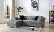 Perla Grey Sectional