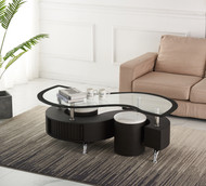 MIAMI COCKTAIL TABLE WITH STOOLS