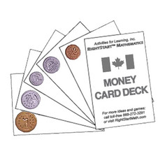 Card Deck - Money Canadian