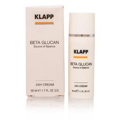 KLAPP/BETA GLUCAN 24H CREAM 1.7 OZ (50 ML)