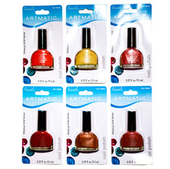 ARTMATIC/MIRROR FINISH NAIL POLISH 72 PCS ASSORTED COLORS 0.32 OZ (9.5 ML)